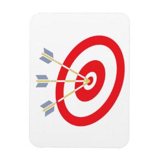 Perfect Aim Rectangular Photo Magnet