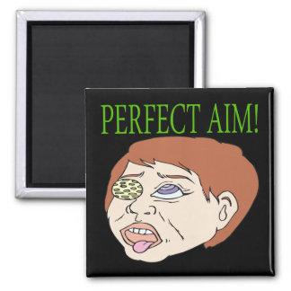 Perfect Aim Square Magnet