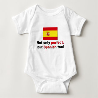 Perfect and Spanish Baby Bodysuit