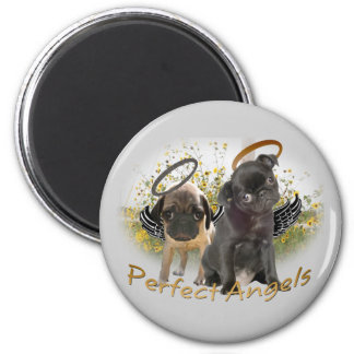 Perfect Angel Pugs Magnets