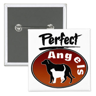 Perfect Angels 15 Cm Square Badge