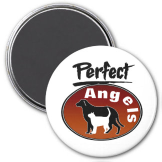Perfect Angels 7.5 Cm Round Magnet