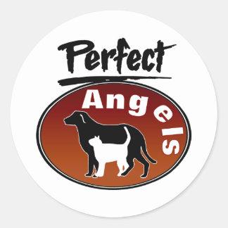 Perfect Angels Round Sticker