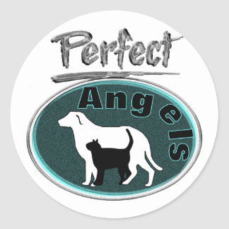 Perfect Angels Classic Round Sticker
