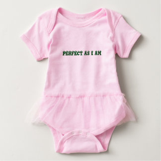 PERFECT AS I AM BABY BODYSUIT