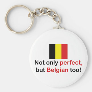 Perfect Belgian Keychains
