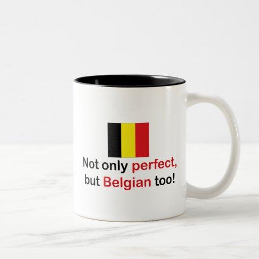 Perfect Belgian Coffee Mugs