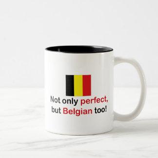 Perfect Belgian Two-Tone Coffee Mug