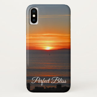 Perfect Bliss – Sunset in Dana Point, California iPhone X Case