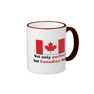 Perfect Canadian Ringer Mug