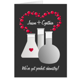 Perfect Chemistry Greeting Card