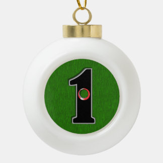 Perfect Christmas Gift for Golfer with Hole in One Ornament