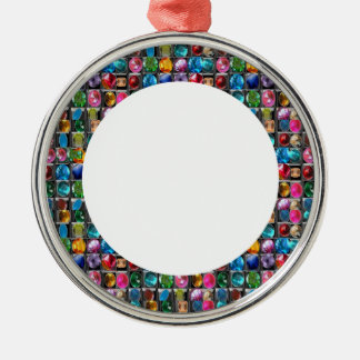 PERFECT CIRCLES BORDER FRAME JEWELS CHRISTMAS TREE ORNAMENTS