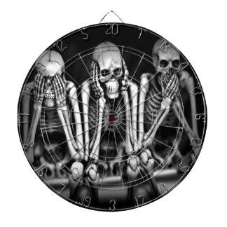 Perfect Closet Skeletons-Holga Dartboards