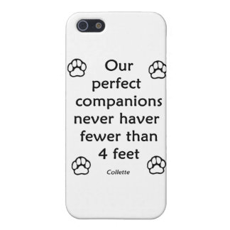 Perfect Companions iPhone 5 Cases