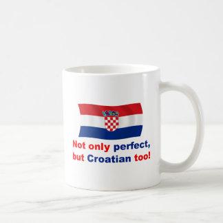 Perfect Croatian Basic White Mug