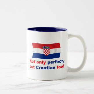 Perfect Croatian Two-Tone Coffee Mug