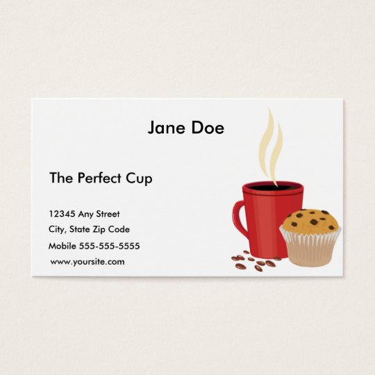 Perfect Cup Business Card