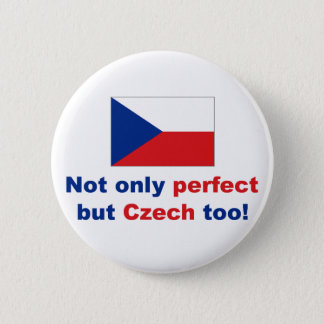Perfect Czech 6 Cm Round Badge