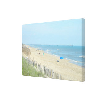 Perfect Day at The Beach Canvas Prints