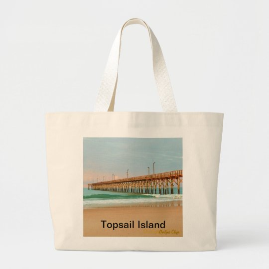"""Perfect Day"" Large Tote Bag"
