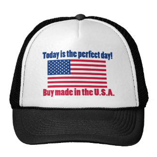 Perfect Day to Buy USA Mesh Hats