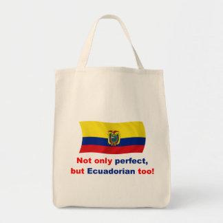 Perfect Ecuadorian Grocery Tote Bag