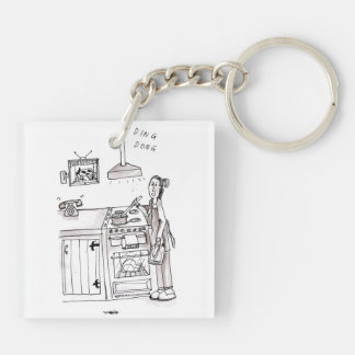 Perfect Farm Wife Keyring