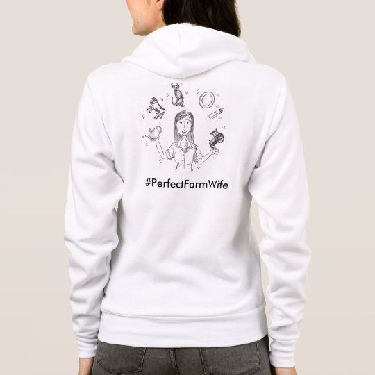 Perfect Farm Wife 'Plates in the Air' Hoodie
