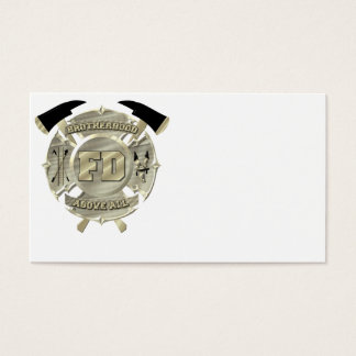 Perfect firefighter business card.....