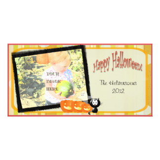 Perfect for Showing Off Your Halloween Costume - Personalized Photo Card
