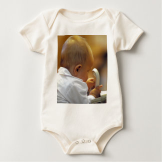 Perfect for special occasions such Baptisms Baby Bodysuit