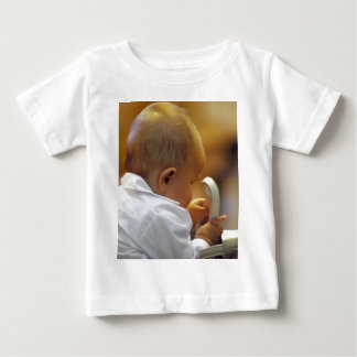 Perfect for special occasions such Baptisms Baby T-Shirt