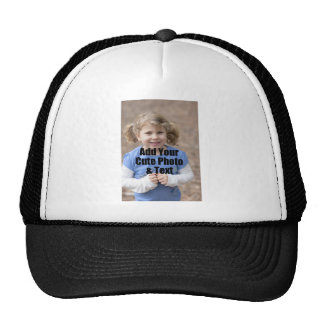 Perfect Gift for Family Customize with Your Photo Mesh Hats