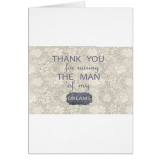 Perfect Gift for Mother in Law Greeting Card