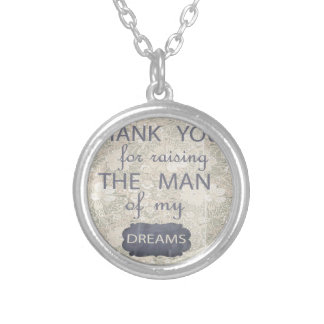 Perfect Gift for Mother in Law Silver Plated Necklace