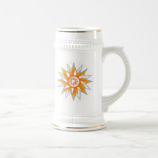Perfect Gold Steins Sunshine Star Mug