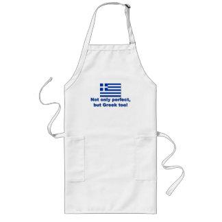 Perfect Greek Long Apron