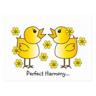 Perfect Harmony Postcard
