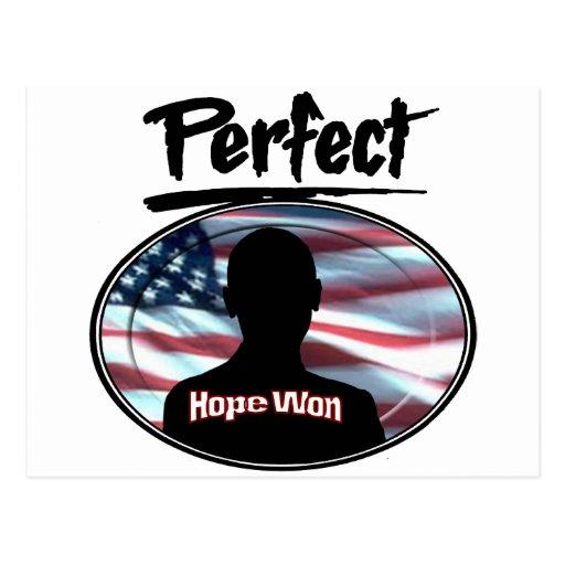 Perfect Hope Won Postcards
