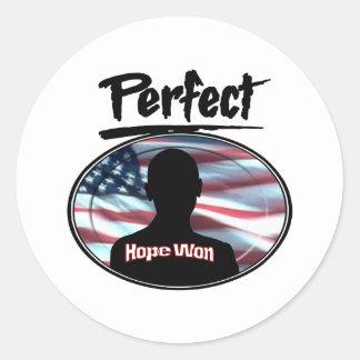 Perfect Hope Won Sticker