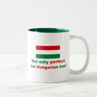 Perfect Hungarian Two-Tone Coffee Mug