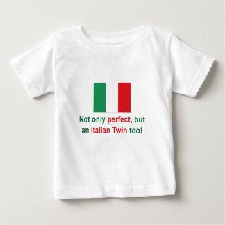 Perfect Italian Twin Baby T-Shirt