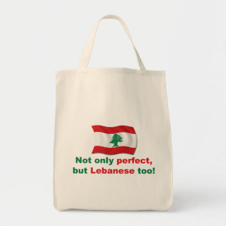 Perfect Lebanese Grocery Tote Bag