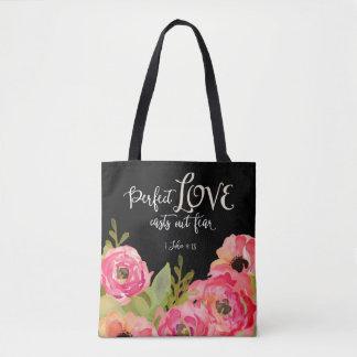 Perfect Love All Over Print Bag Tote Bag