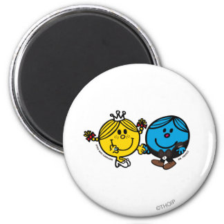 Perfect Match 6 Cm Round Magnet