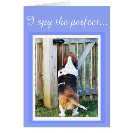"""Perfect Mum"" Mother's Day Card w/Basset &"