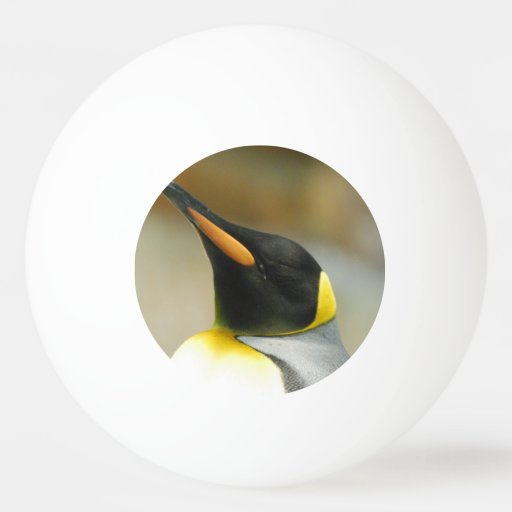 Perfect Penguin Ping Pong Ball