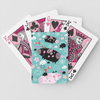 Perfect Piggies Playing Cards