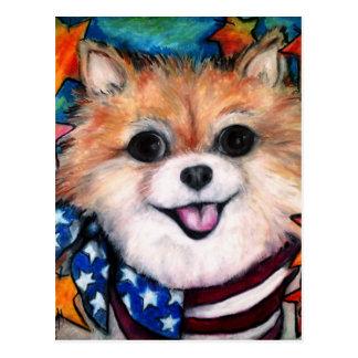 Perfect Pomeranian Postcard